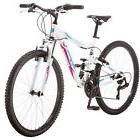 """26"""" Women Mountain Bike White Purple 21 Speed Shimano Rear D"""