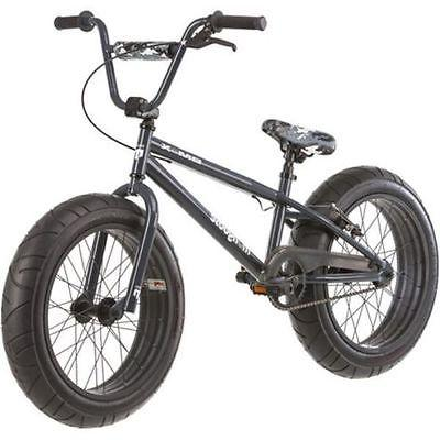 "Boys Mountain Fat Tire Bike Mongoose 20"" bicycle all kids NEW"