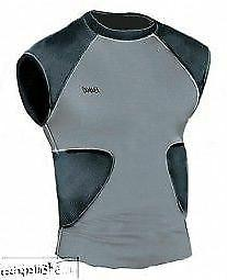 Bike multi sport compression shirt with integrated pads BYRS