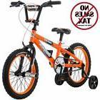 "16"" Mongoose Mutant Boys' Bike Orange Steel New Free Shippin"