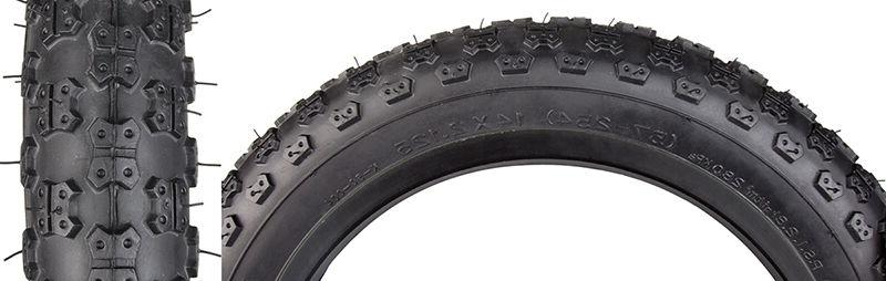 "KENDA MX3 BLACK 14 X 2.125 BMX BIKE BICYCLE TIRE 14"" INCH NE"