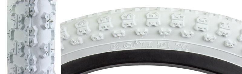 "KENDA MX3 WHITE 14 X 2.125 BMX BIKE BICYCLE TIRE 14"" INCH NE"