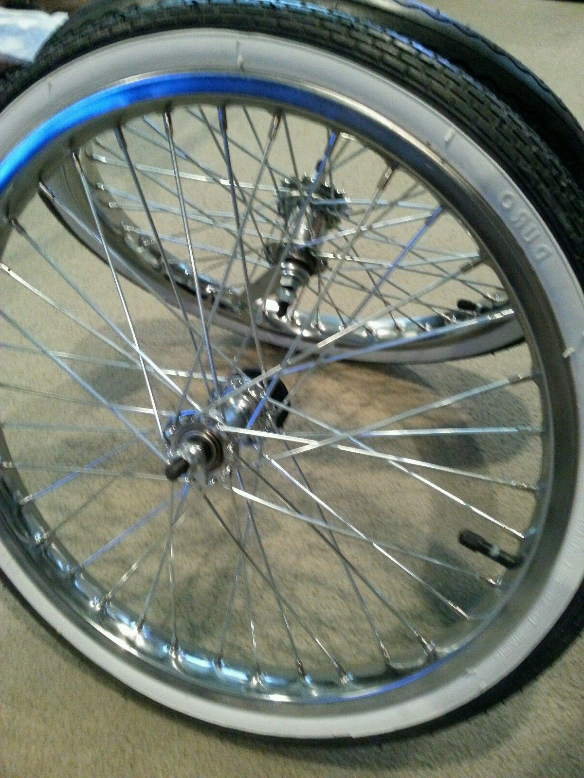 NEW RIMS & SCHWINN WALLS