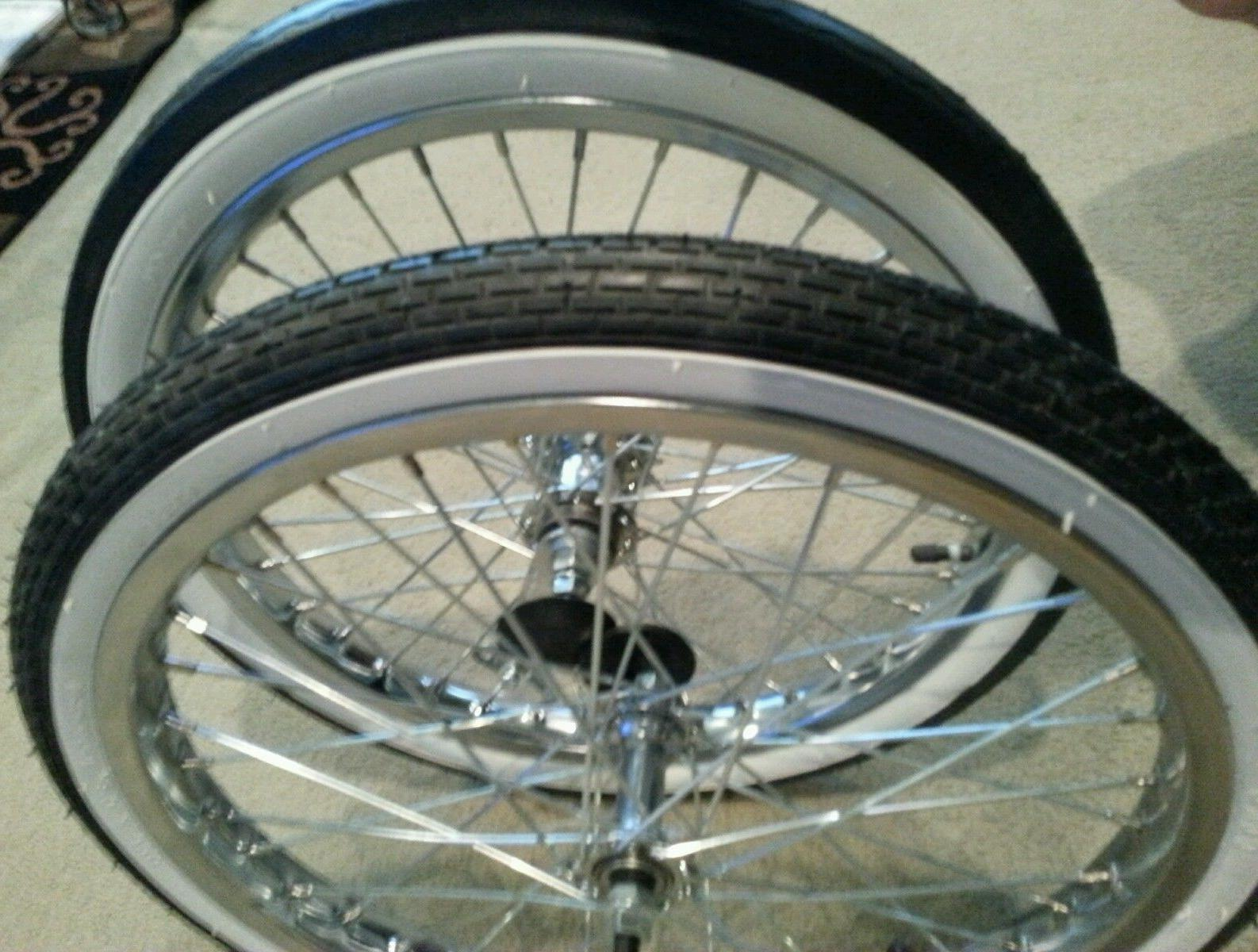 new 20 bicycle rims tires and tubes