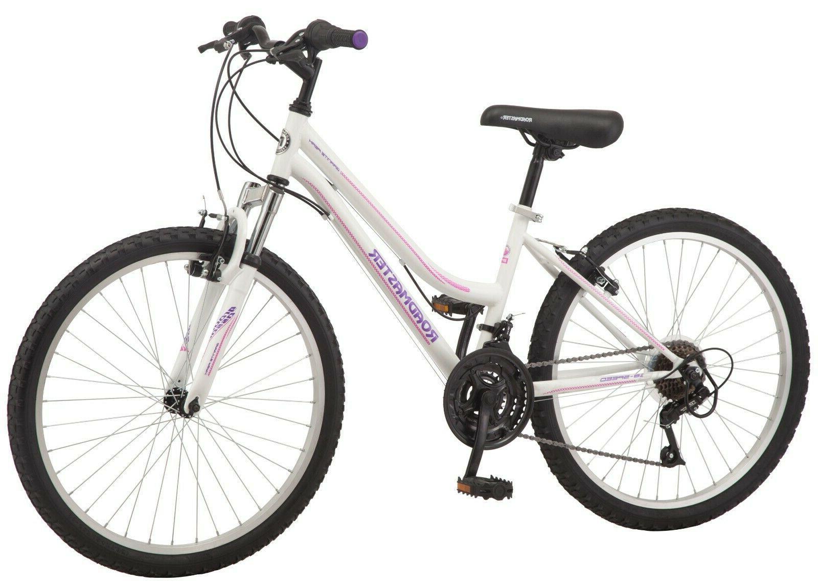 **Free Ship** Roadmaster Granite Peak Girl Mountain Bike, 24