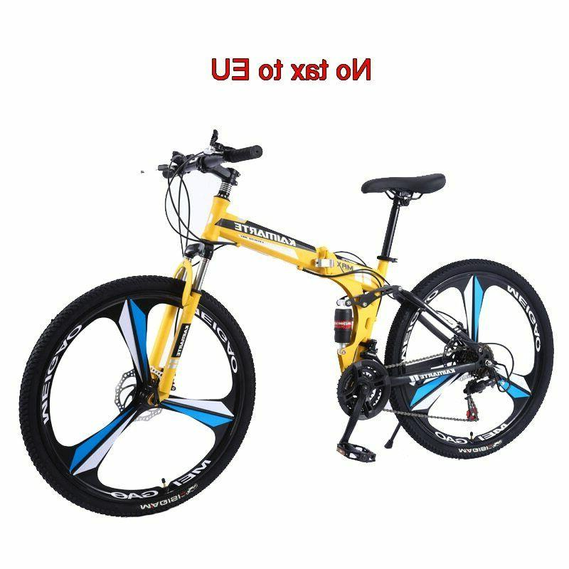 New 24inch Mountain Bike, 21 speed, Folding Mountain Bike