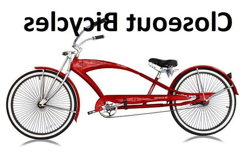 Custom Stretch Beach Cruiser Bike