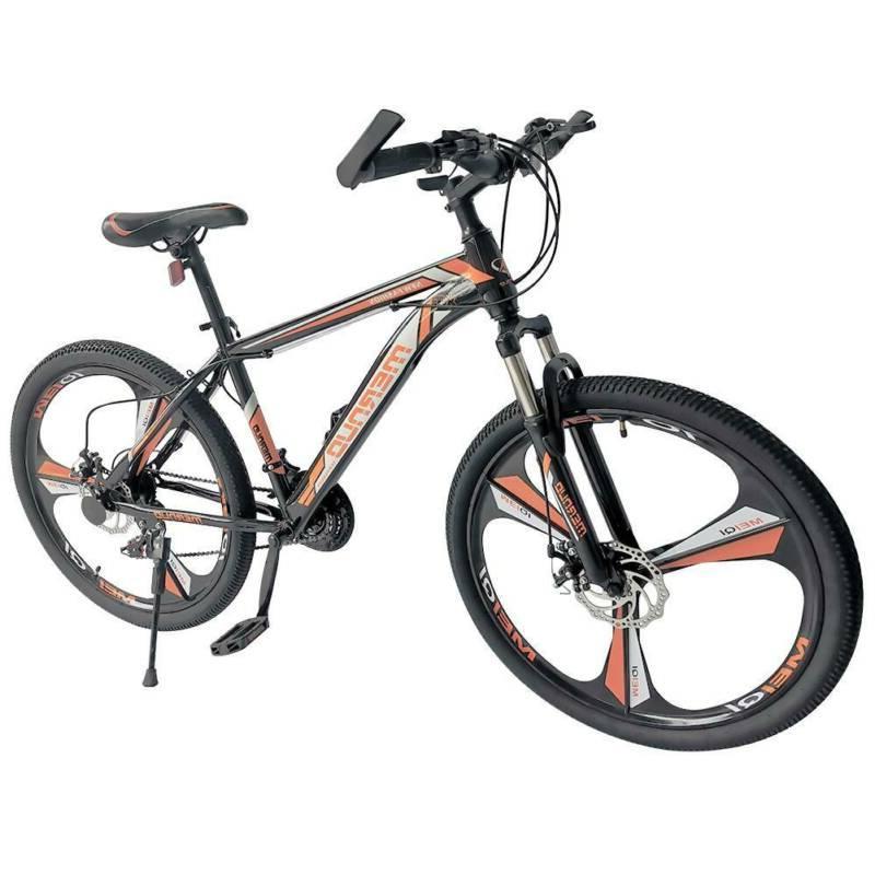"Mountain Bike Bicycle 21-Speed 26"" Wheels Bicycle MTB Orange"