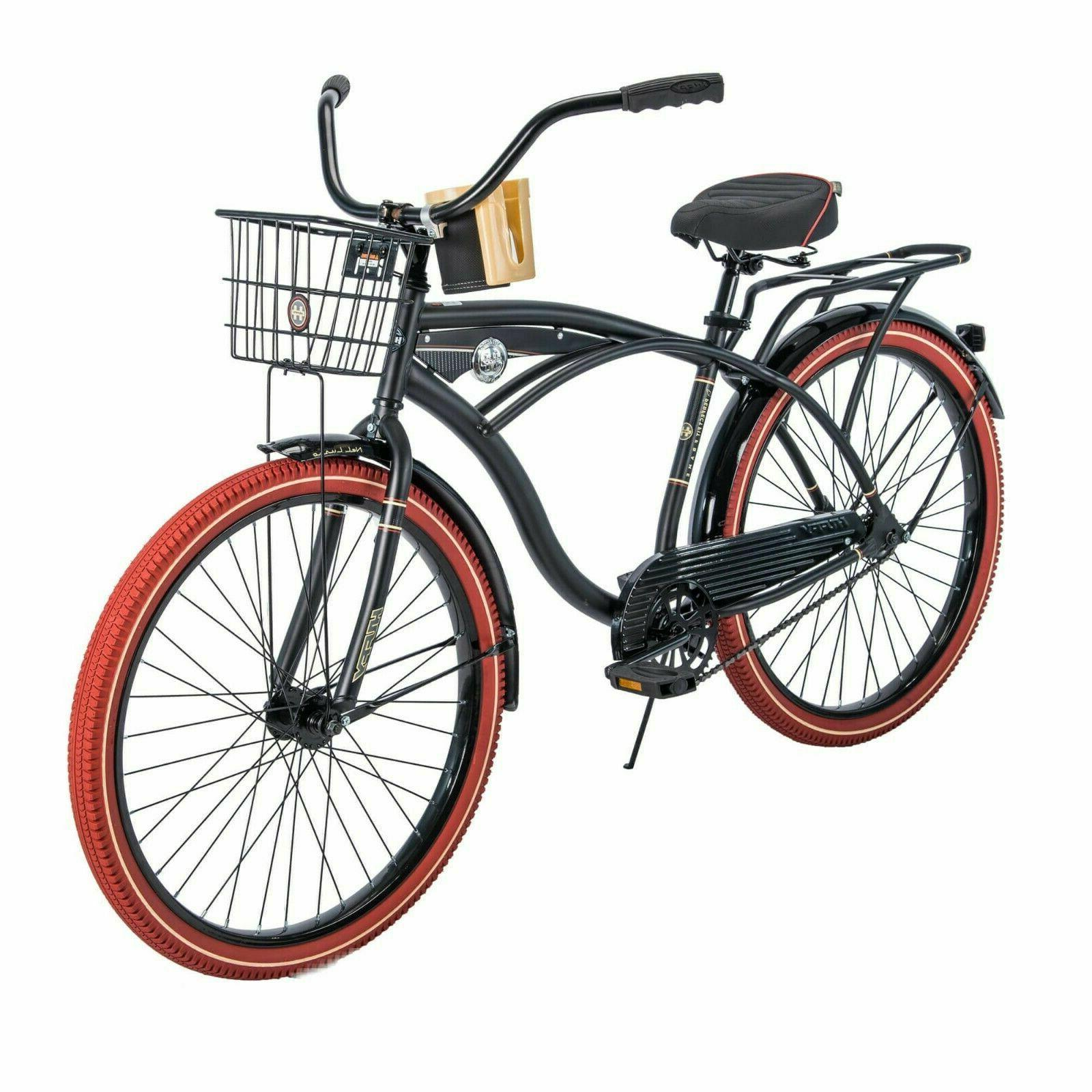 """- Huffy 26"""" Nel Lusso Cruiser with Perfect Fit Frame Men's"""
