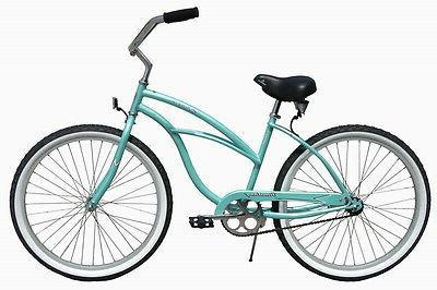 "NEW 26"" Cruiser Bike Firmstrong Urban chrome"