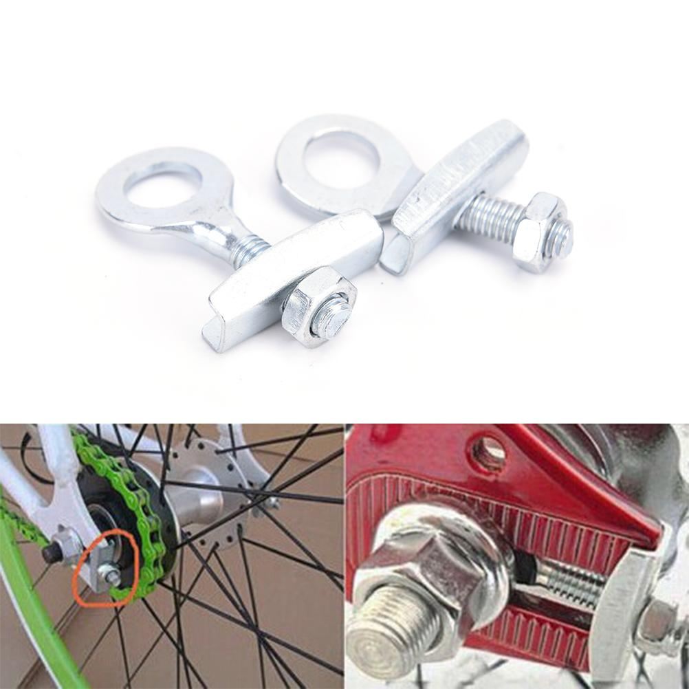 4pcs Bike Chain Tensioner Adjuster For Fixed Gear Single Speed Track Bicycle**