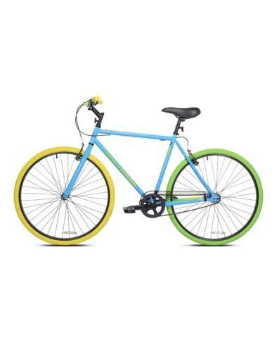 🔥NEW Mens Ridgeland Blue Green Single Speed 700 C