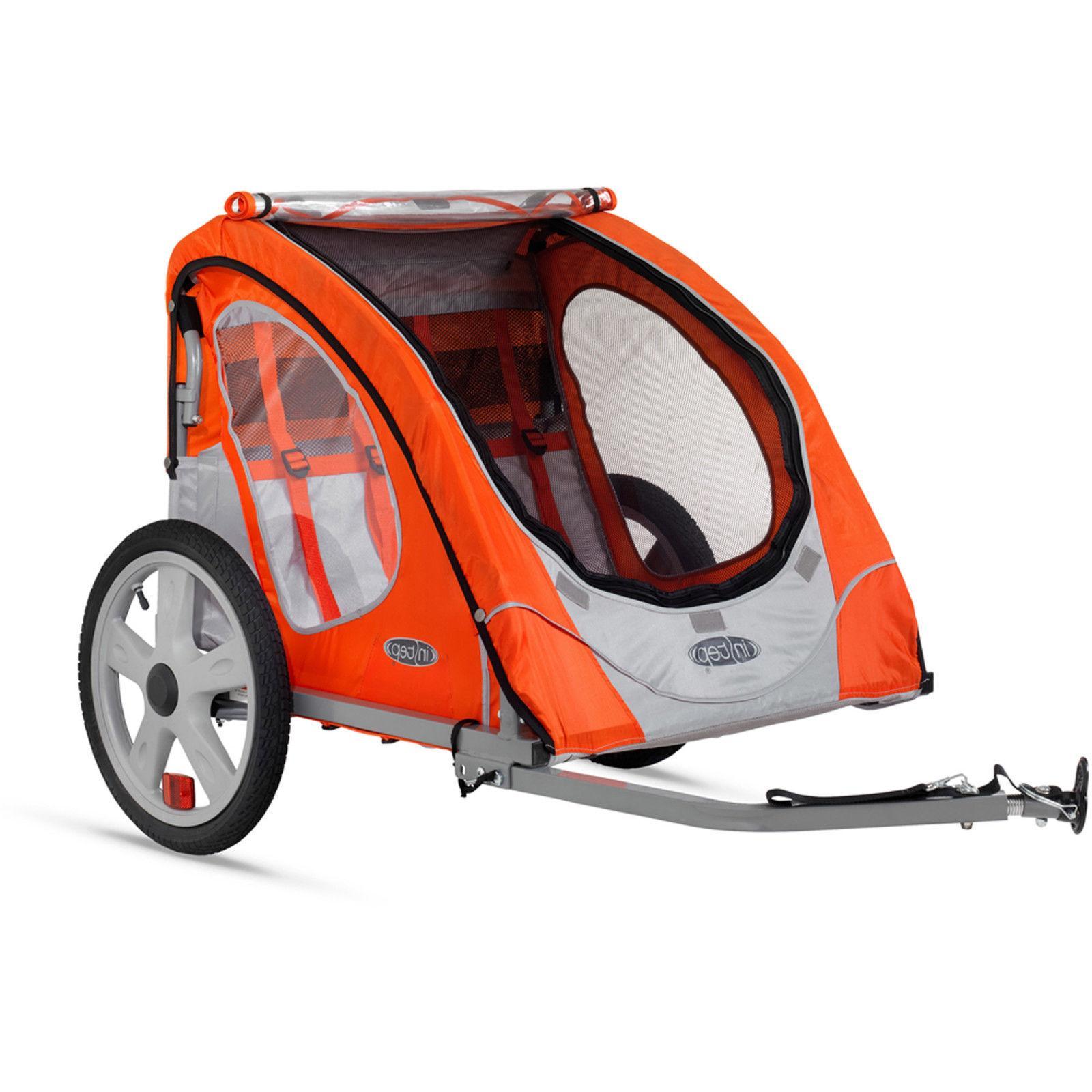 NEW Bike Trailer InStep 2 Seat Child Bicycle