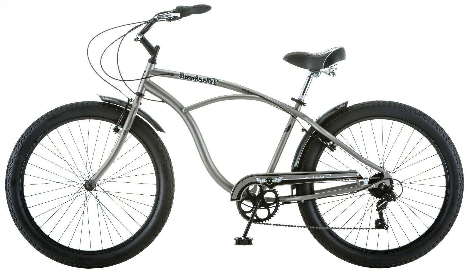 NEW Schwinn 26-inch Steel Bike-Silver