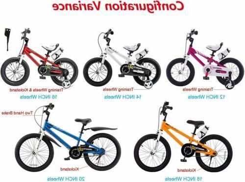 RoyalBaby Kids inch Training Wheels Blue