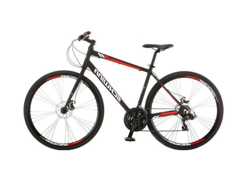 "NEW! Schwinn Men's Circuit 28"" Hybrid Bike with Disc Brakes"