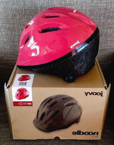 noodle bicycle helmet red for children 1