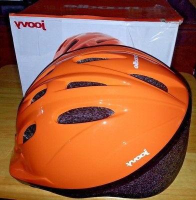 noodle bike bicycle adjustable helmet orange orangie