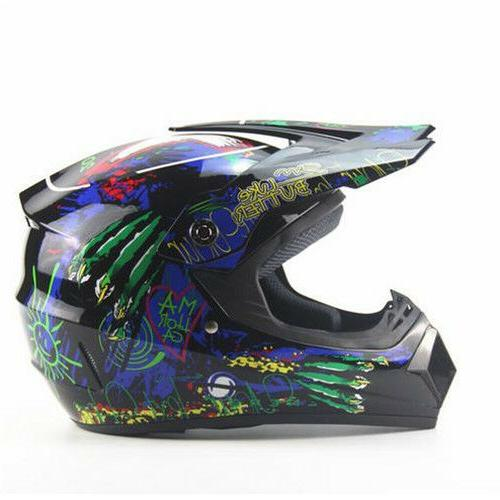 Off-Road Full Face Mountain Bike Helmet  Bicycle Motorcycle