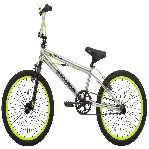 Mongoose Outer bike, 20 inch single boys silver