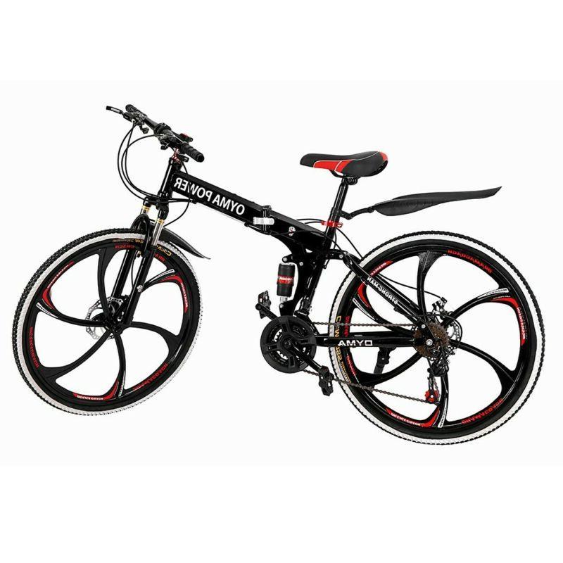 Outroad Bike 21 Speed 26 Bike Disc Brake Bicycles