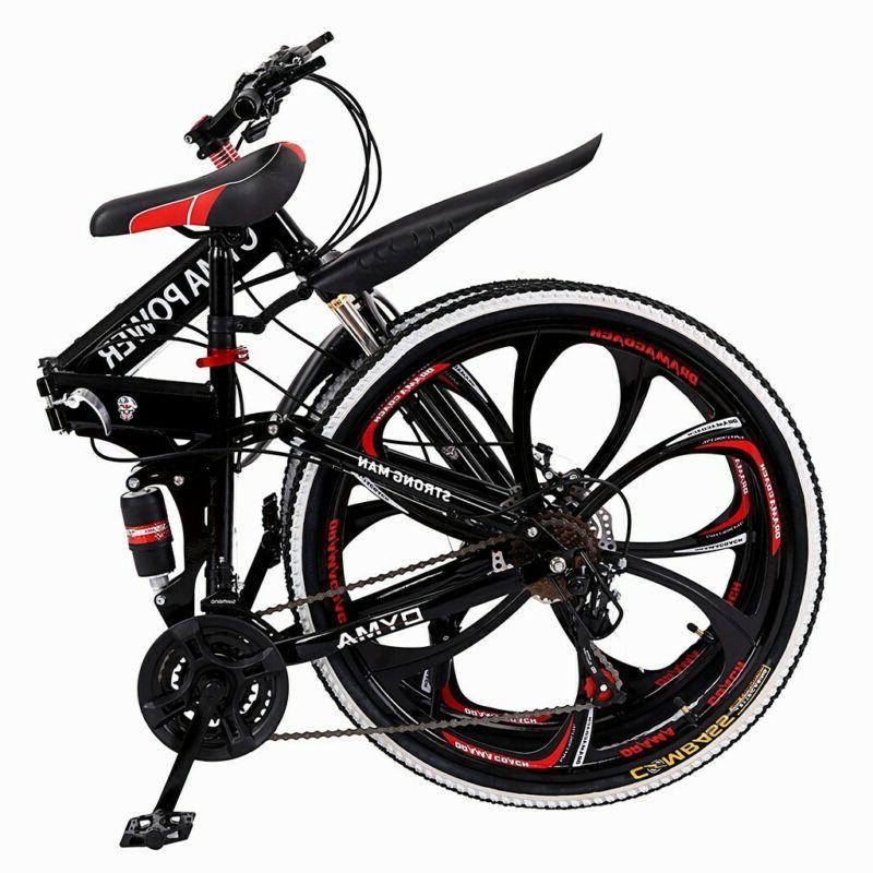 """Full Mountain Bike 26"""" 21 Bicycle Disc Brake"""