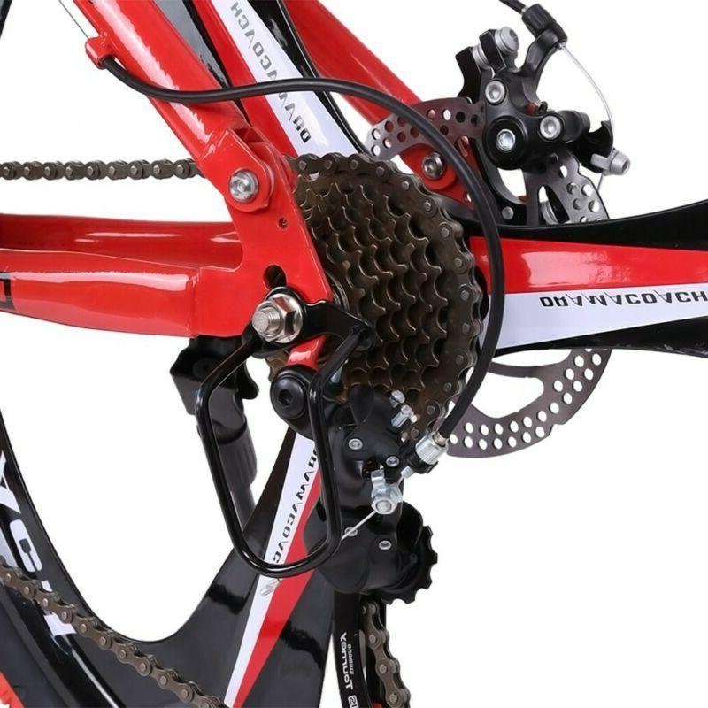 Outroad Speed 20in Folding Bike Double Brake Bicycles