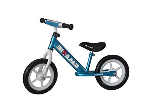 Enkeeo Pedal Balance Bike with Bell and Hand Brake for 2-5 Y