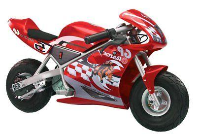 Razor Pocket Rocket 24V Kids Mini Bike 15 MPH Ride On Electr