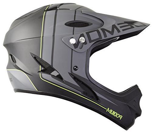 Demon Podium Full Face Mountain Bike Helmet White Small