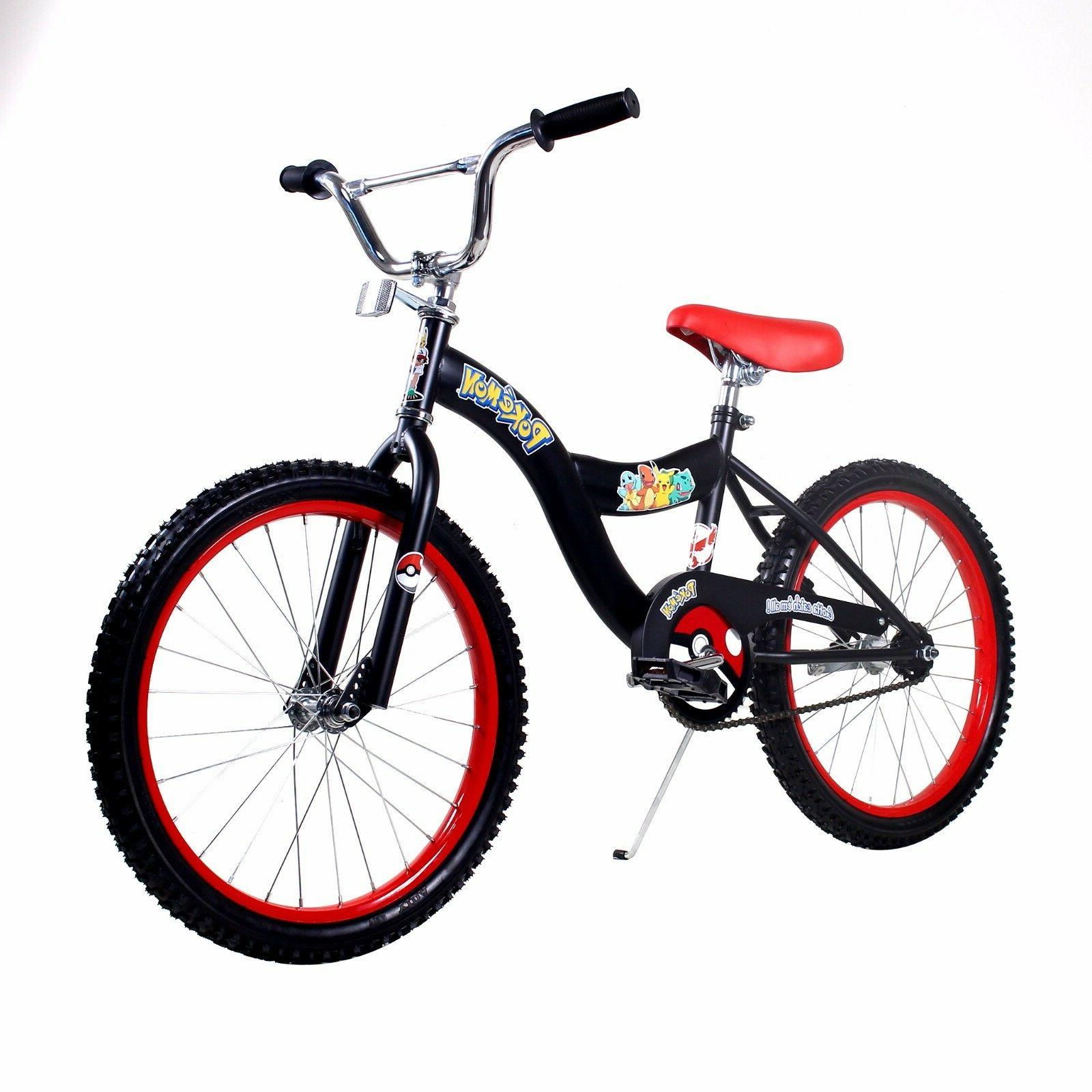 Pokemon bicycle boys kids size 16 inch bike black