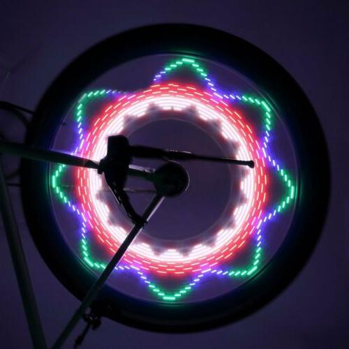 Portable Waterproof 32-LED Bicycle Bike Spoke Lights for MTB R6G