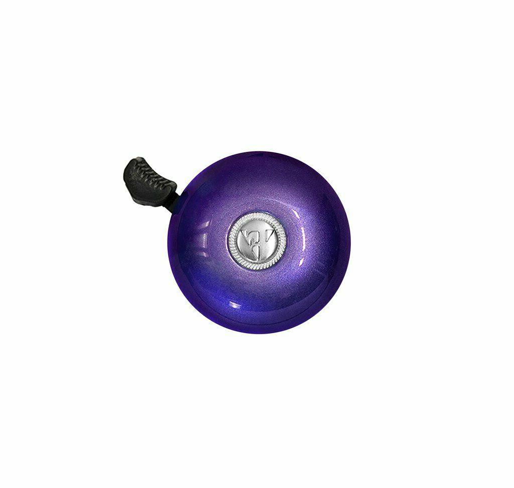 purple bicycle bell classic bikes new