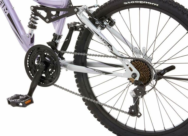 Mongoose R3577 Maxim Full Suspension Bicycle