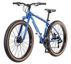 "27.5"" Mongoose Men's Rader Mountain Bike Disc Brakes, Blue"