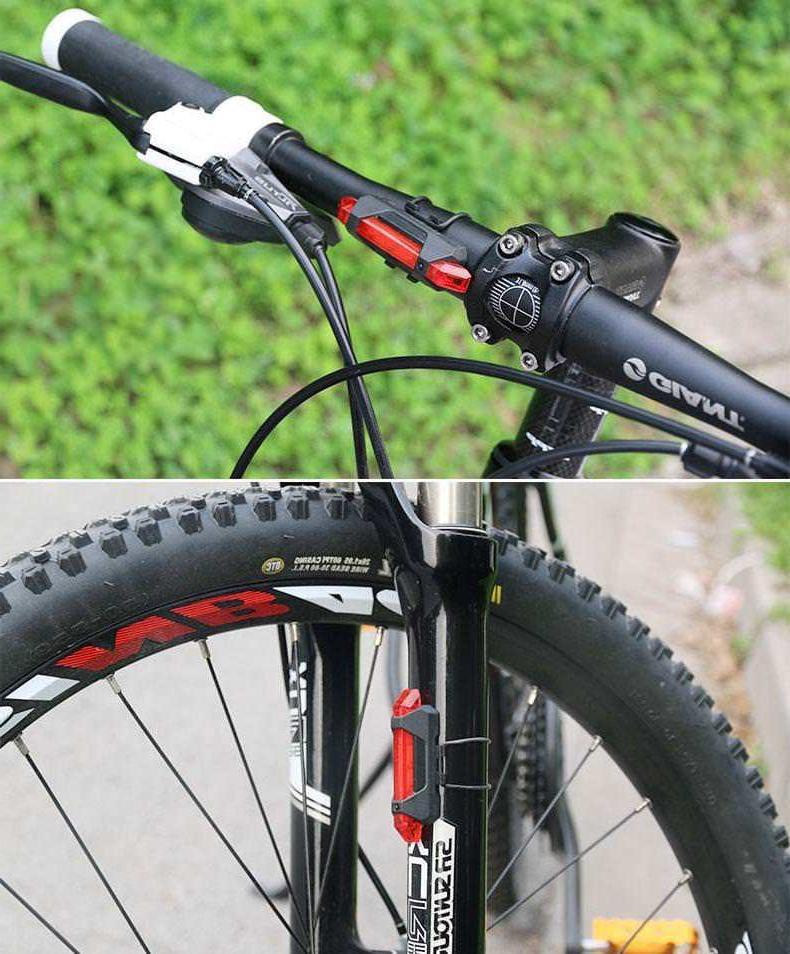 LED Bicycle Bike Waterproof Head