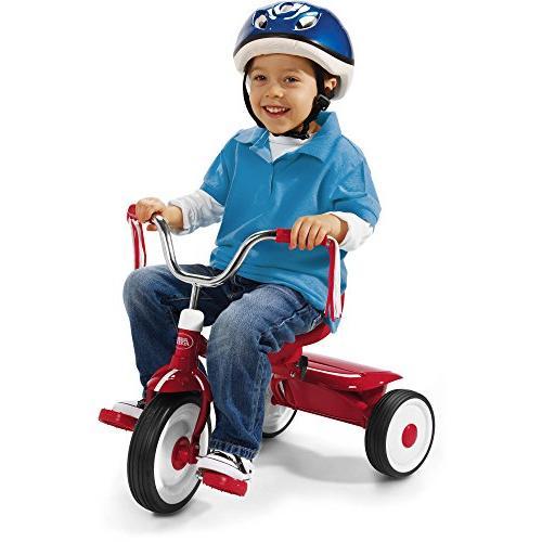 Radio Flyer Kids Red Folding Bike Sports Pedal Push Trike Tr
