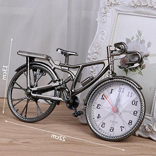 SimpleLif Bicycle Decoration Table Clocks