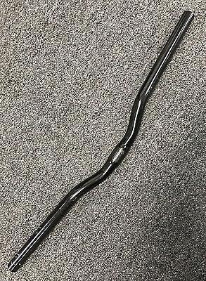 2in Riser Bar Black 25.4mm MTB Fixie Hybrid Handlebar Bike B