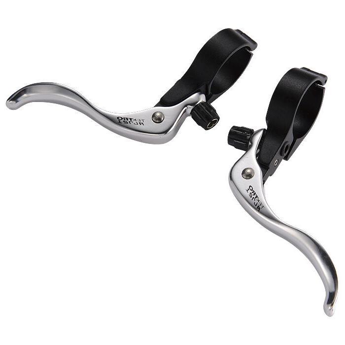 Tektro RL721 Silver 31.8mm Inline Cyclocross Bike Brake Levers Track Touring CX