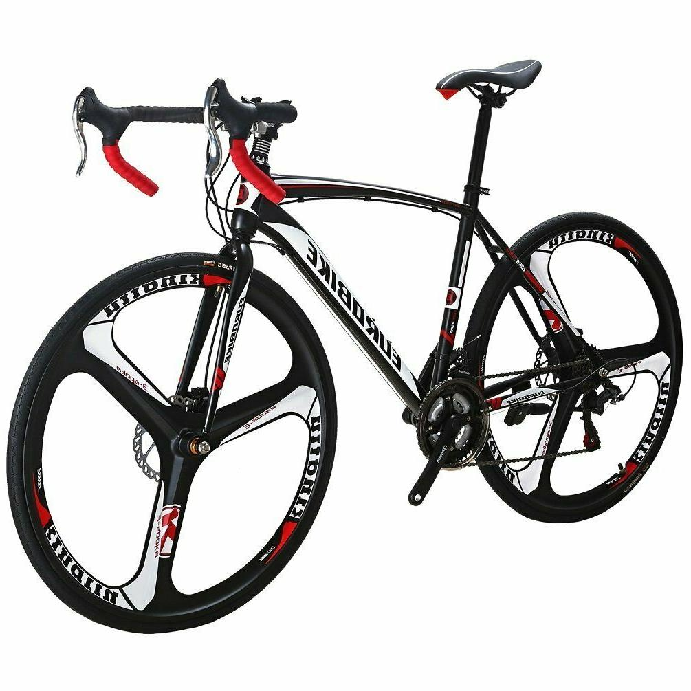 Road Bike Speed 54cm Mens Dual Brakes