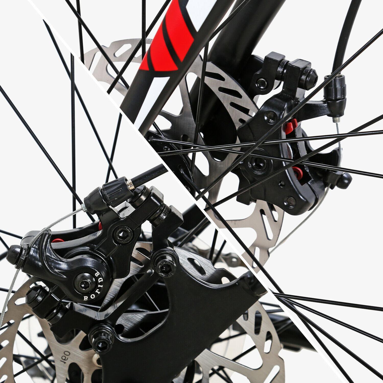 Road 54cm Wheels Mens Brakes