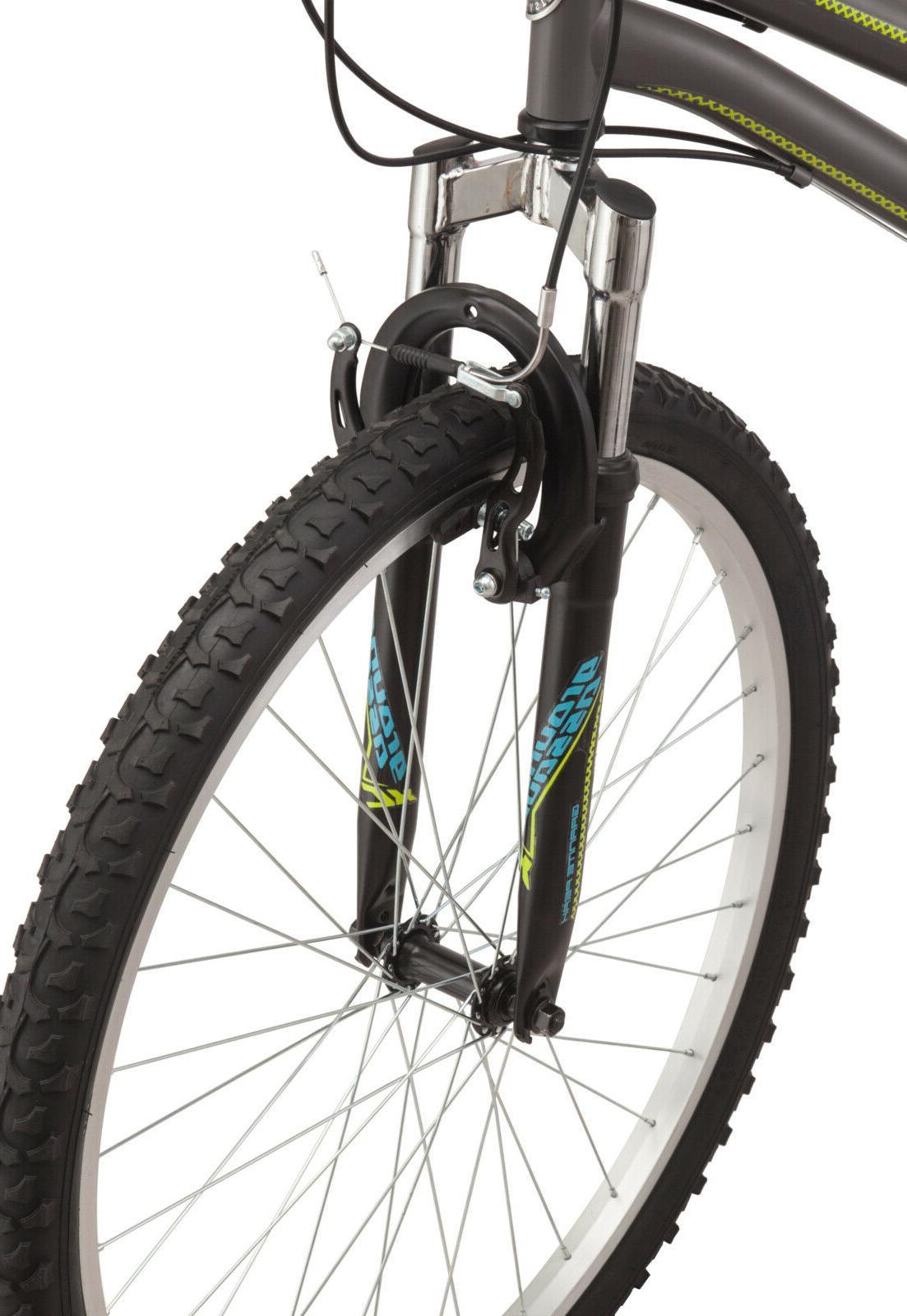 Roadmaster Granite Peak Mountain Bike, Black