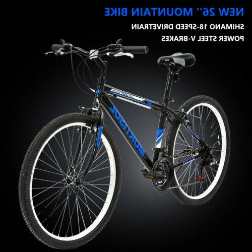 26 mountain bike bicycle 18 speed front