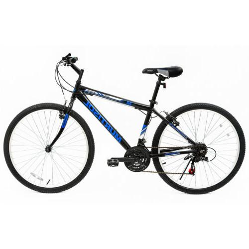 26'' Mountain Bike Bicycle 18 Speed Suspension Hybrid