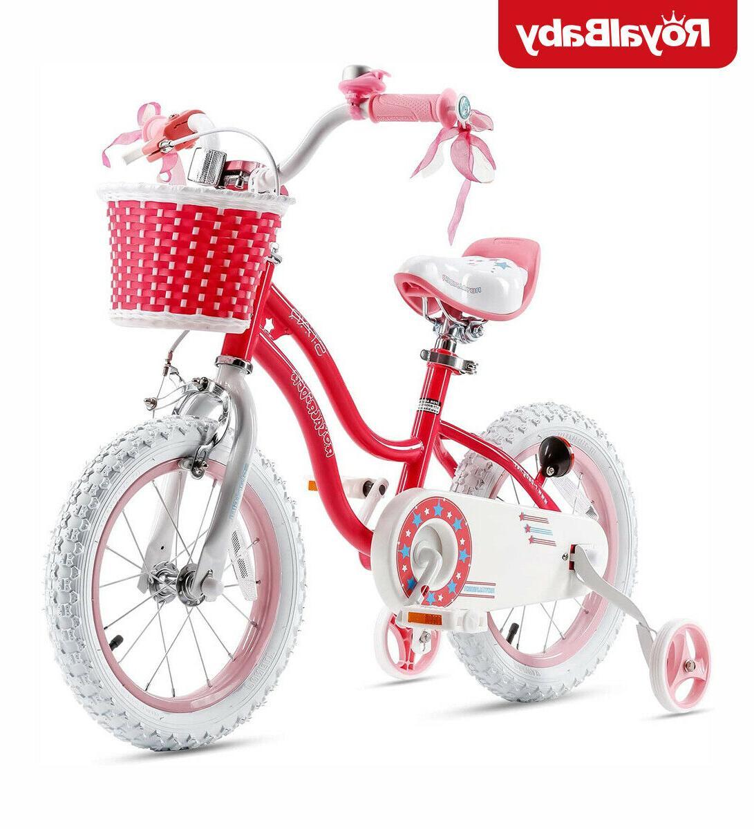 RoyalBaby Kids Stargirl BMX Bike-16' - Pink