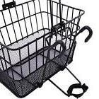 Ohuhu Front Wire Mesh Bottom Basket Bicycle/Bike Lift Off St