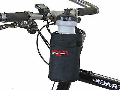 Bushwhacker Shasta Black - Insulated Bike Water Bottle Holde