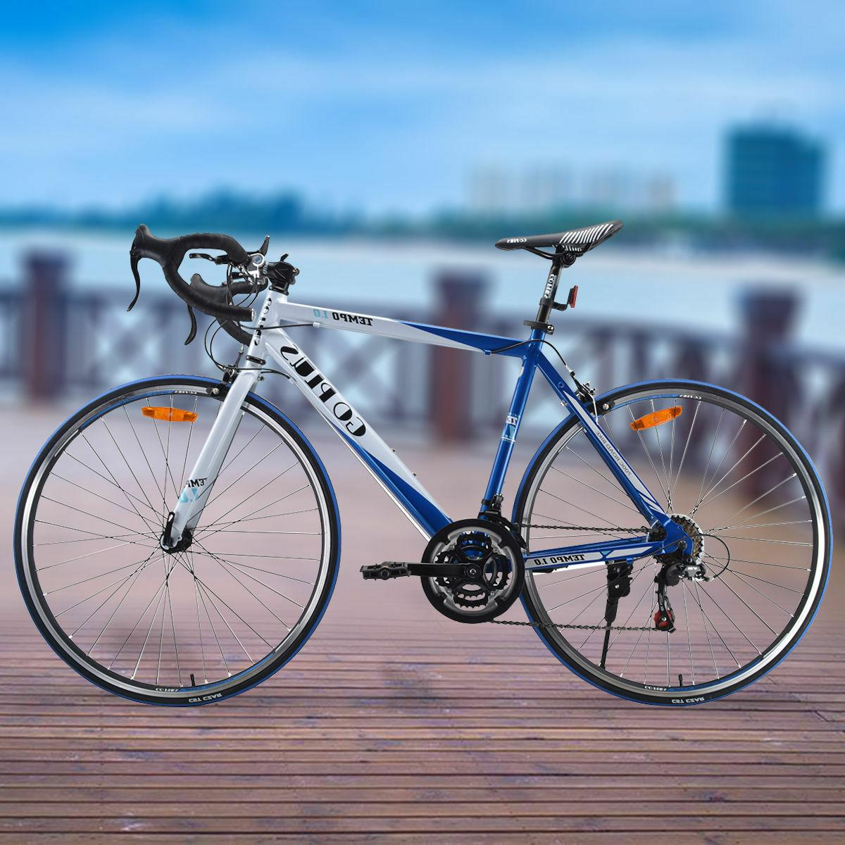 Shimano 52cm Aluminum Road/Commuter Bike Speed Quick