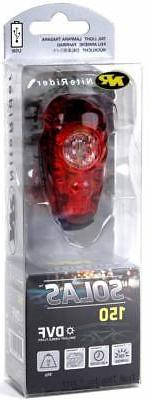 Niterider Solas 150 LED Bicycle Tail Light Daylight Visible